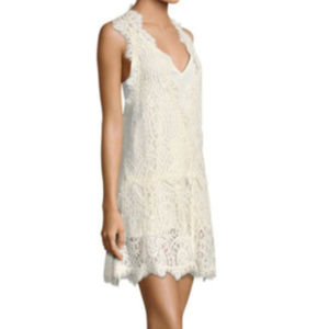 Free People Heart in Two Lace Sz S Lace Mini Dress
